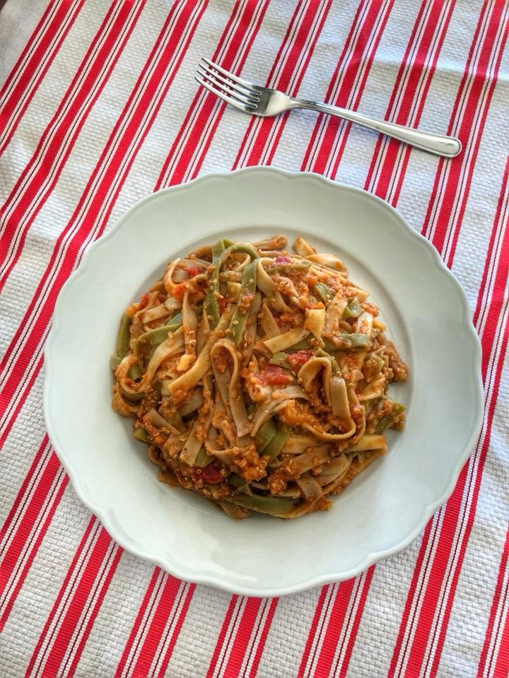 Quinoa Lentil Bolognese Insta Update