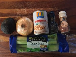 Chickpea Saland Ingredients