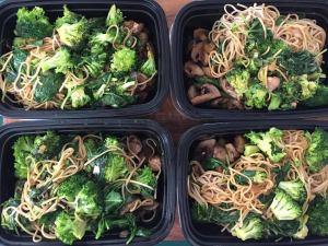 Roasted Teriyaki Mushrooms&Broccoli Soba Noodles 5