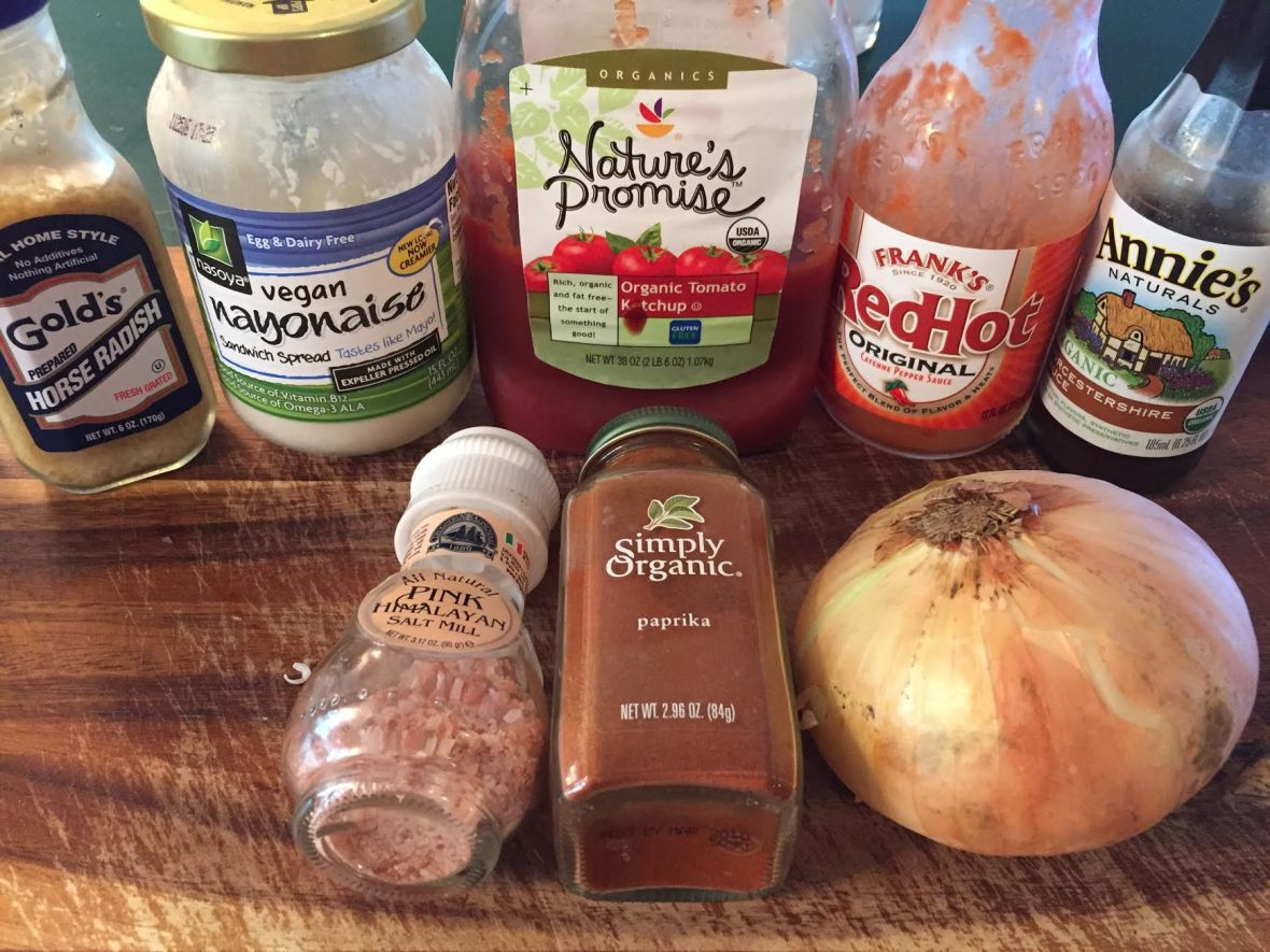 Russian Dressing Ingredients