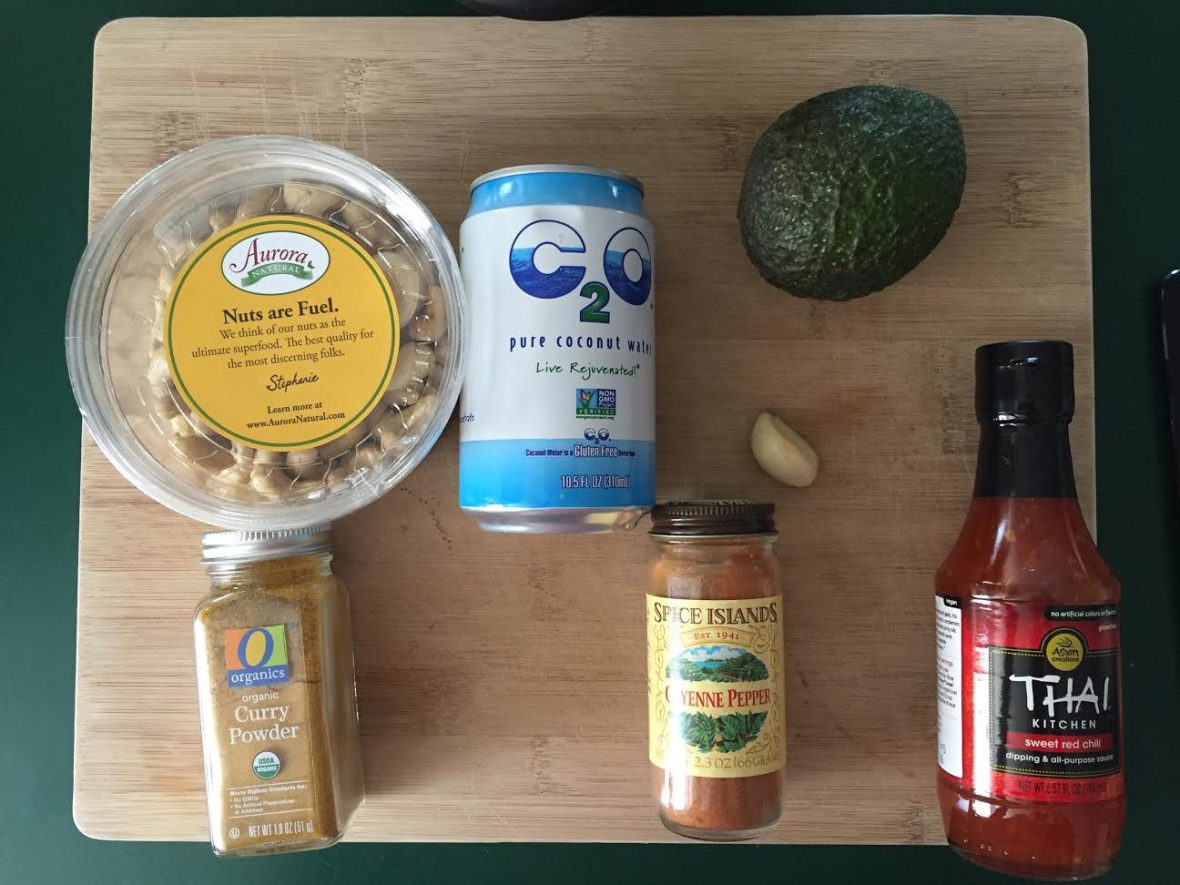 Vegan Curry Ingredients