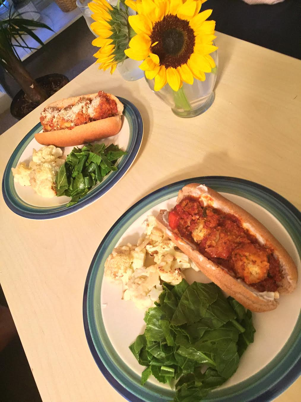 meatball-subs-w-roasted-cabbage-wedges-w-onion-dijon-sauce-insta