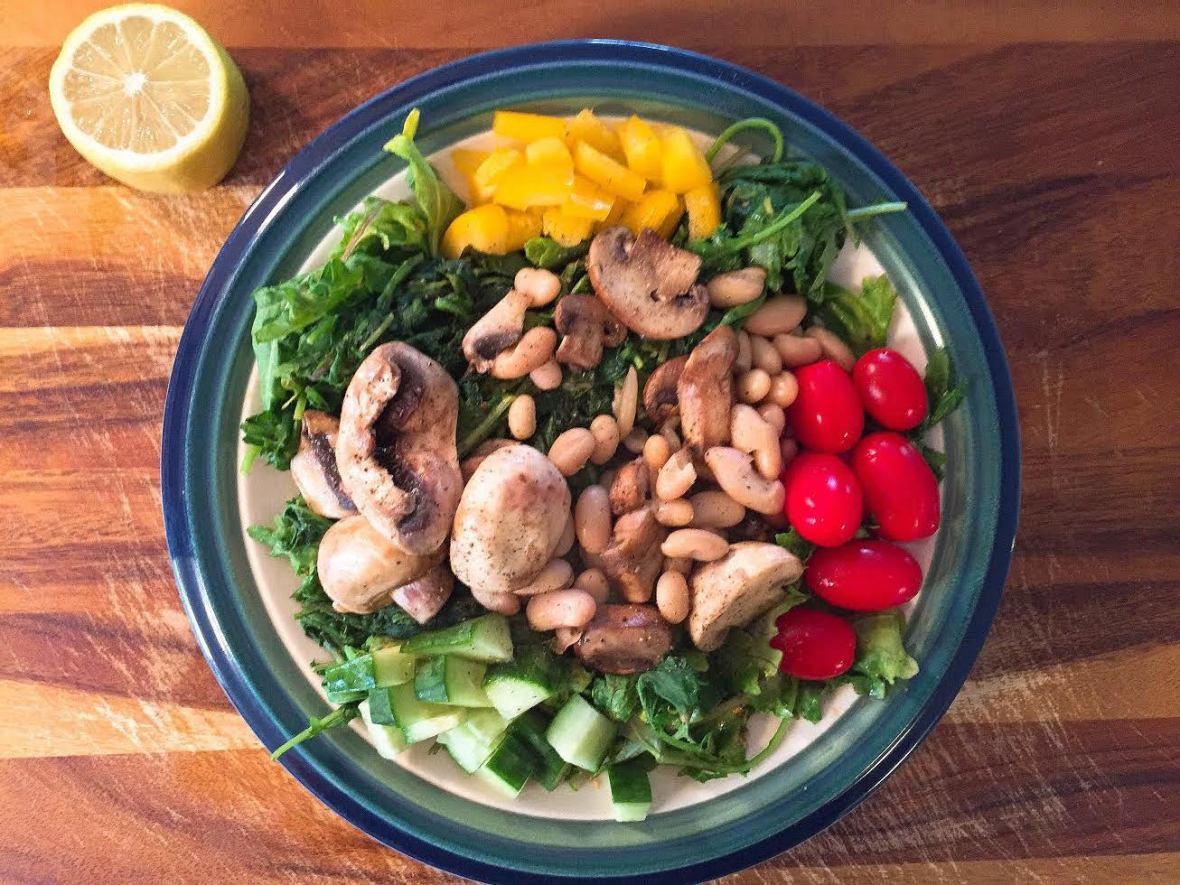 mushroom-lentil-lentil-salad-insta