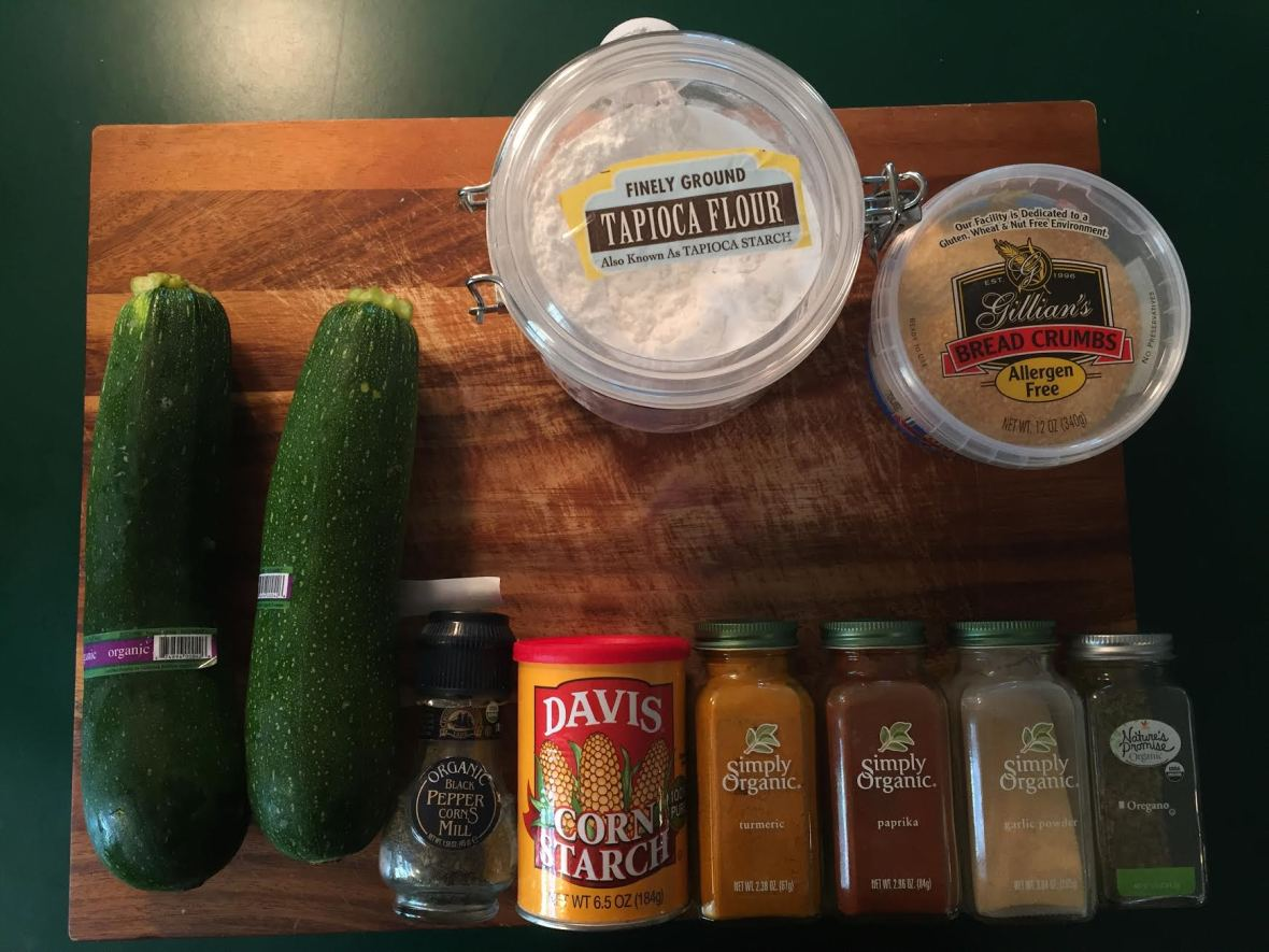 Zucchini Fries Ingredients