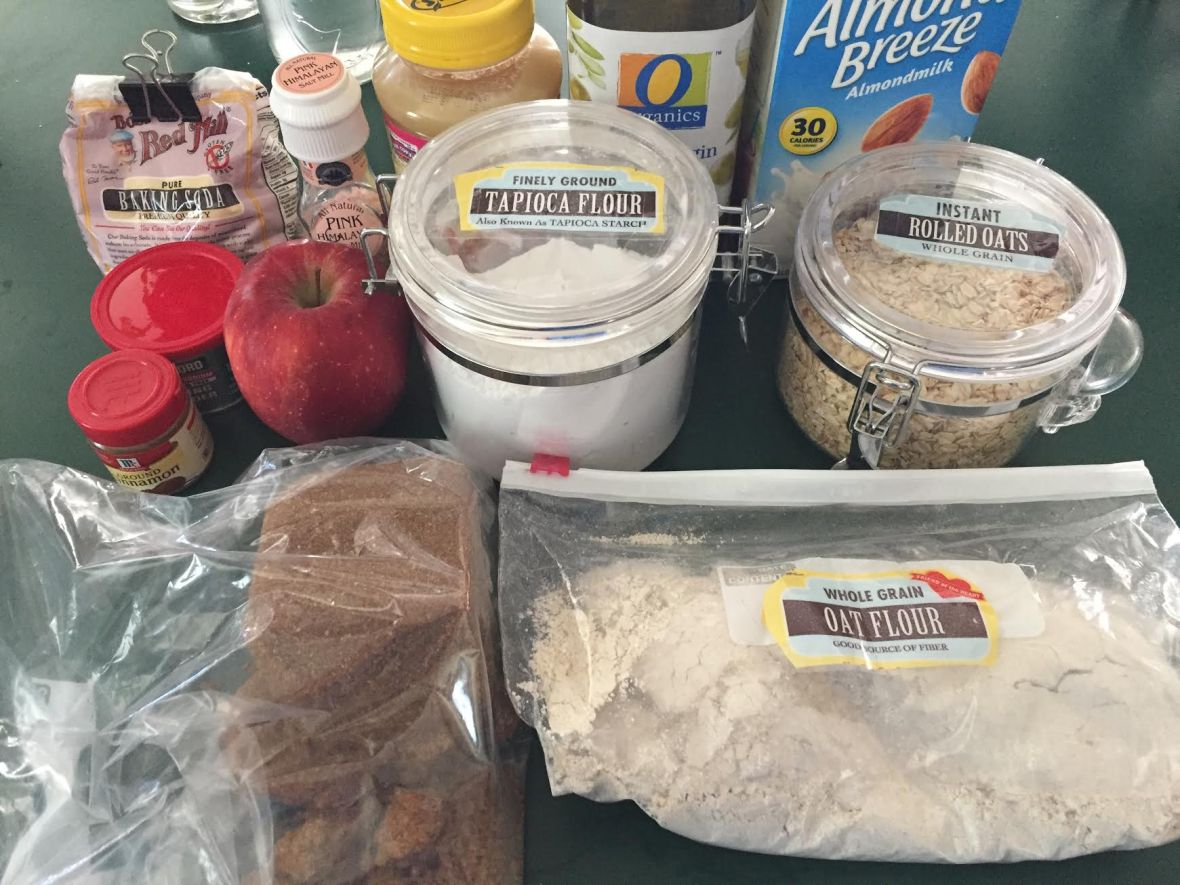 apple-oatmeal-muffins-ingredients