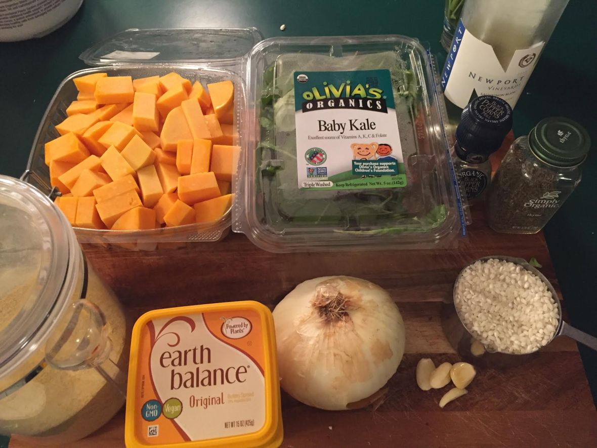 butternut-squash-kale-risotto-ingredients
