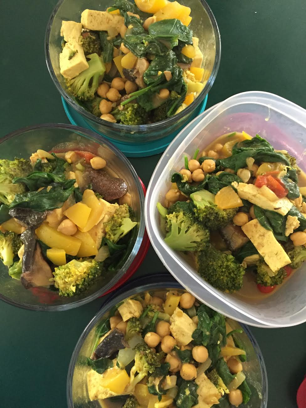 Chickpea Curry Meal Prep