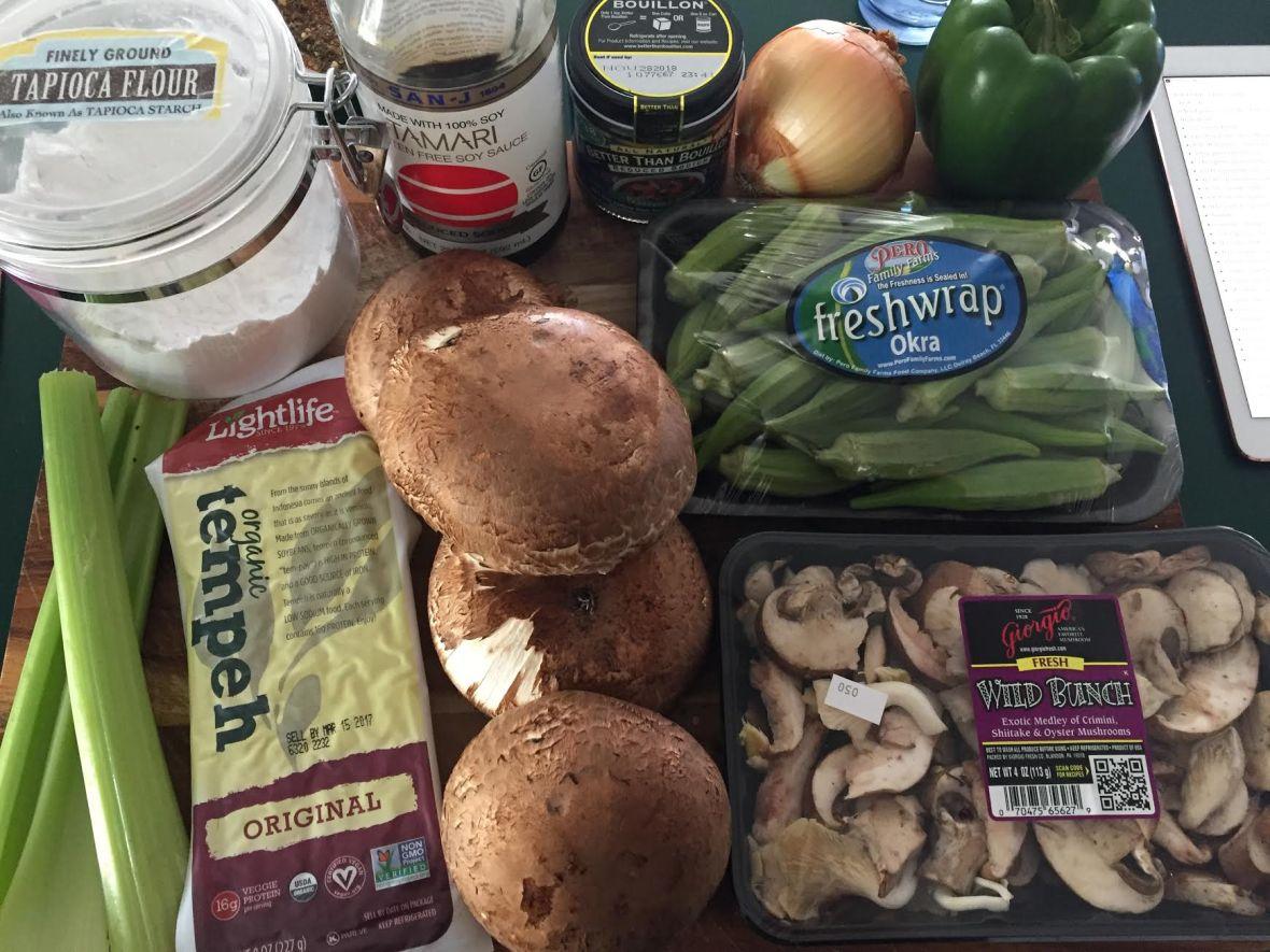 mushroom-tempeh-gumbo-ingredients