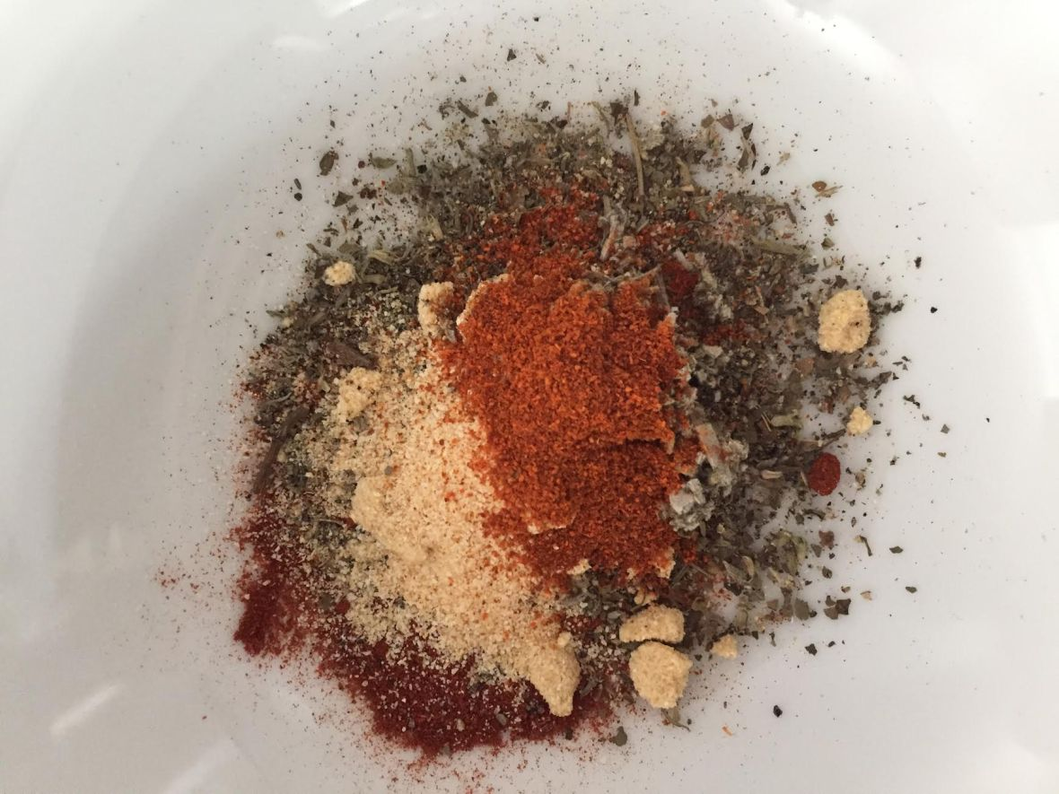 mushroom-tempeh-gumbo-spices-mixed
