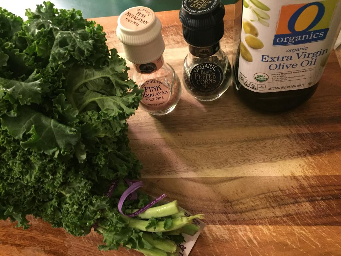 Kale Chips Ingredients