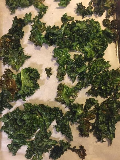 Kale Chips Post Oven 2