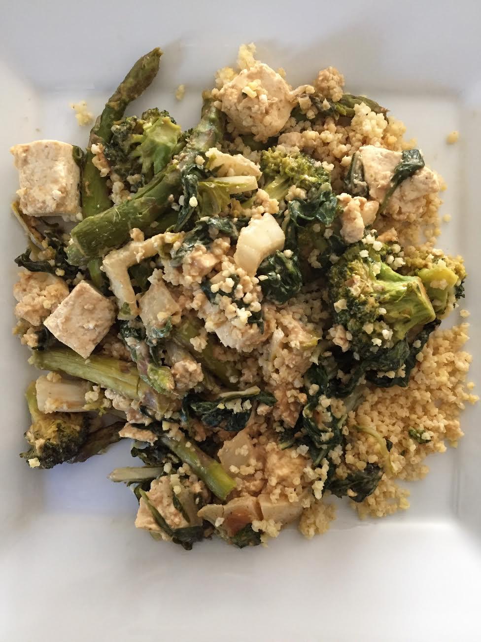 Pra Ram Tofu (Thai Peanut Sauce) Insta
