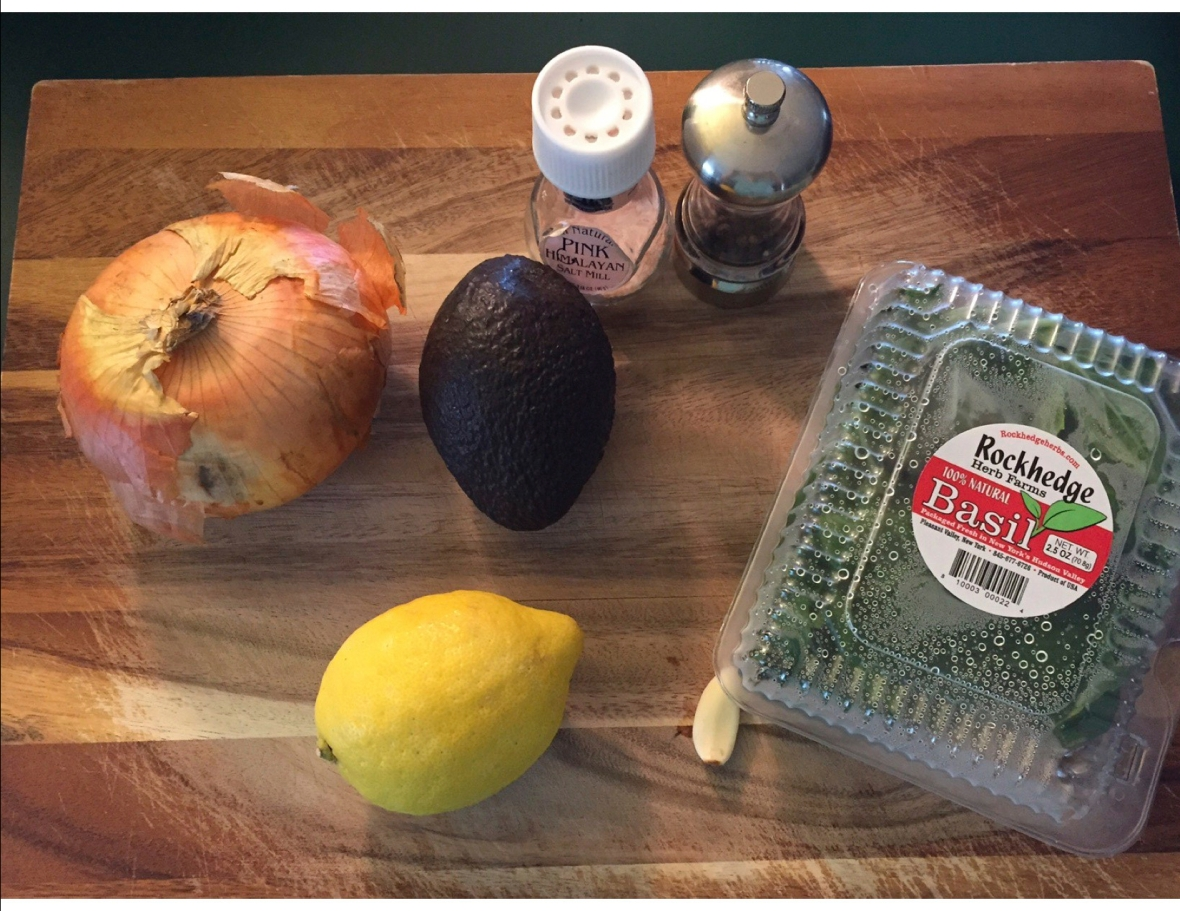 Avocado Pasta Ingredients