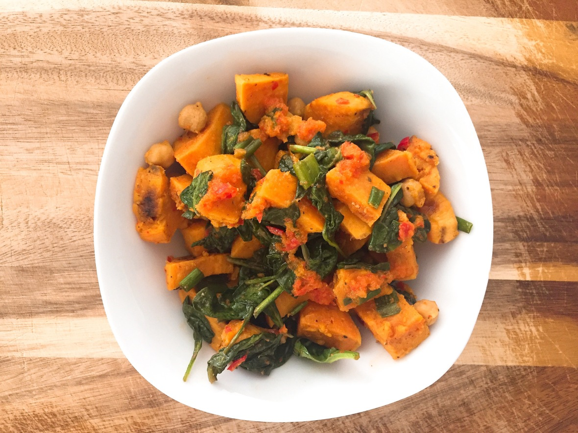 Sweet Potato Salad Insta