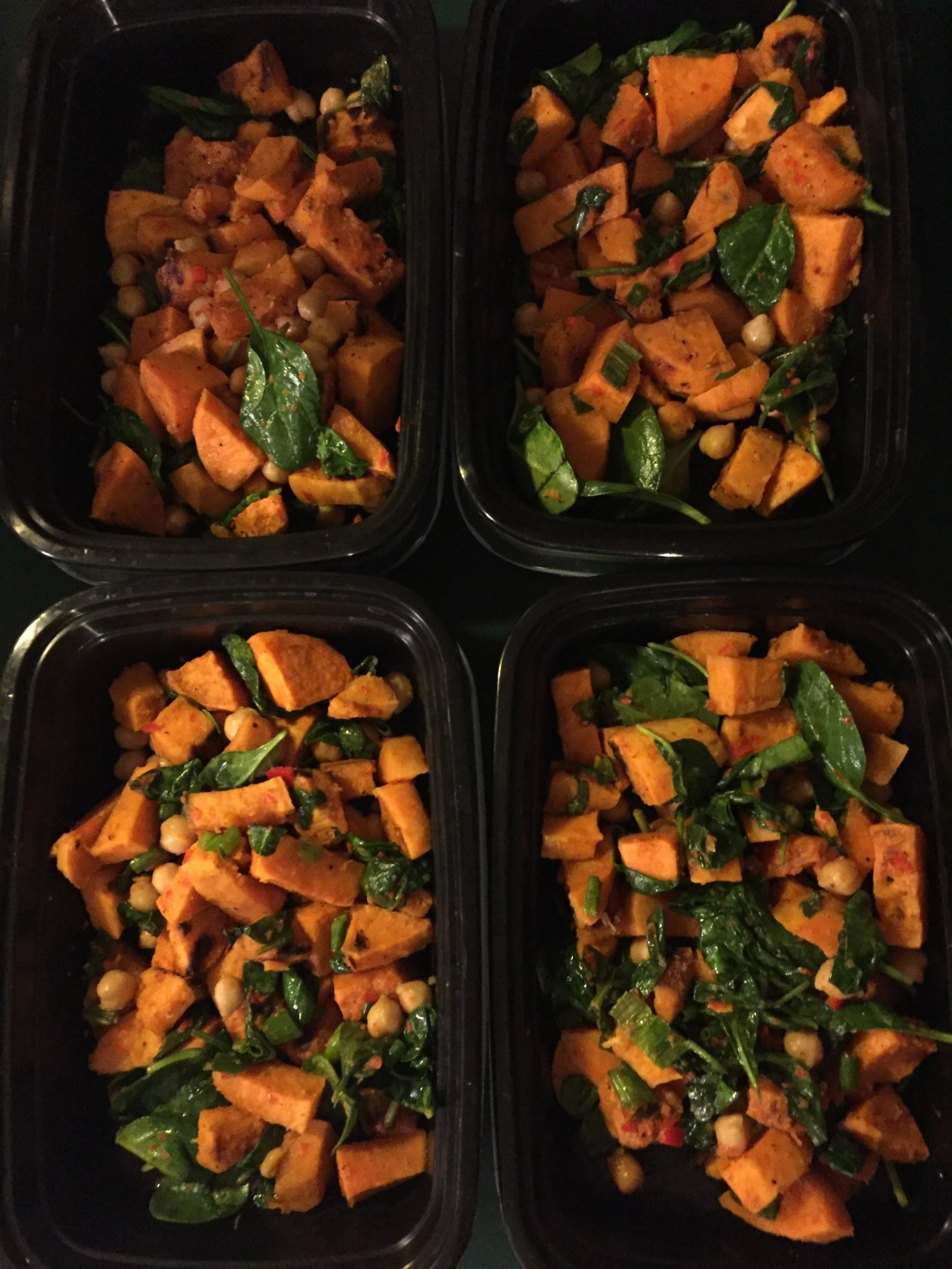 Sweet Potato Salad Meal Prep