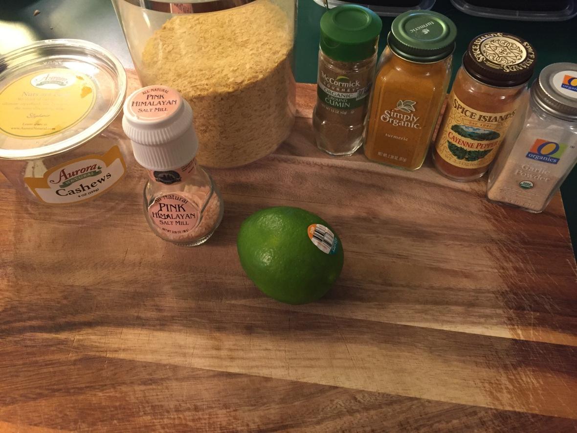 Black Bean & Tempeh Tacos Cashew Chz Sauce Ingredients