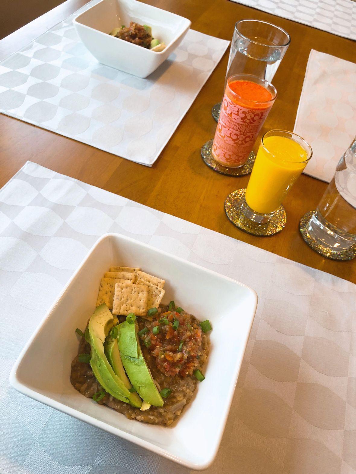 Oatmeal & Lentil Bowl Insta