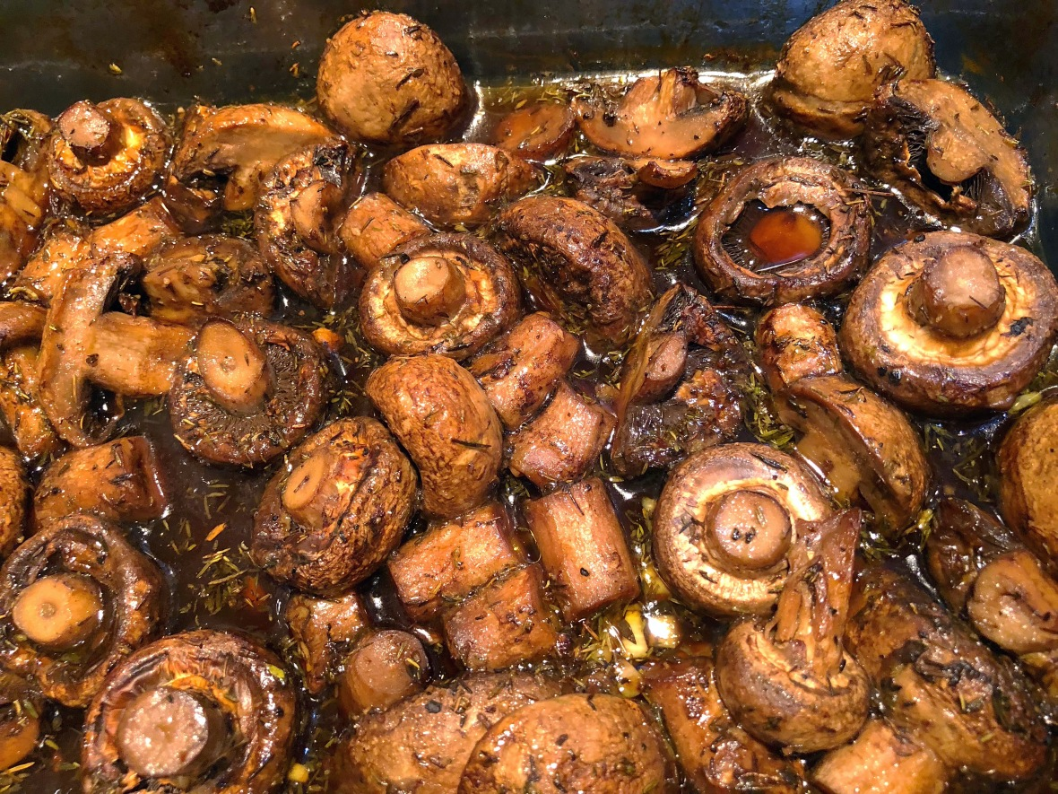Roasted Mushrooms Insta