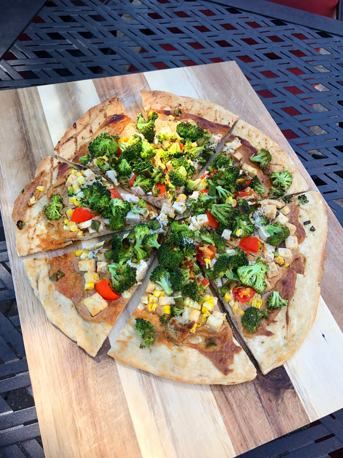 Thai Tofu Pizza Insta